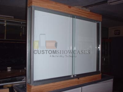 Wall Mounted Display Cases Delivery Usa Custom Display