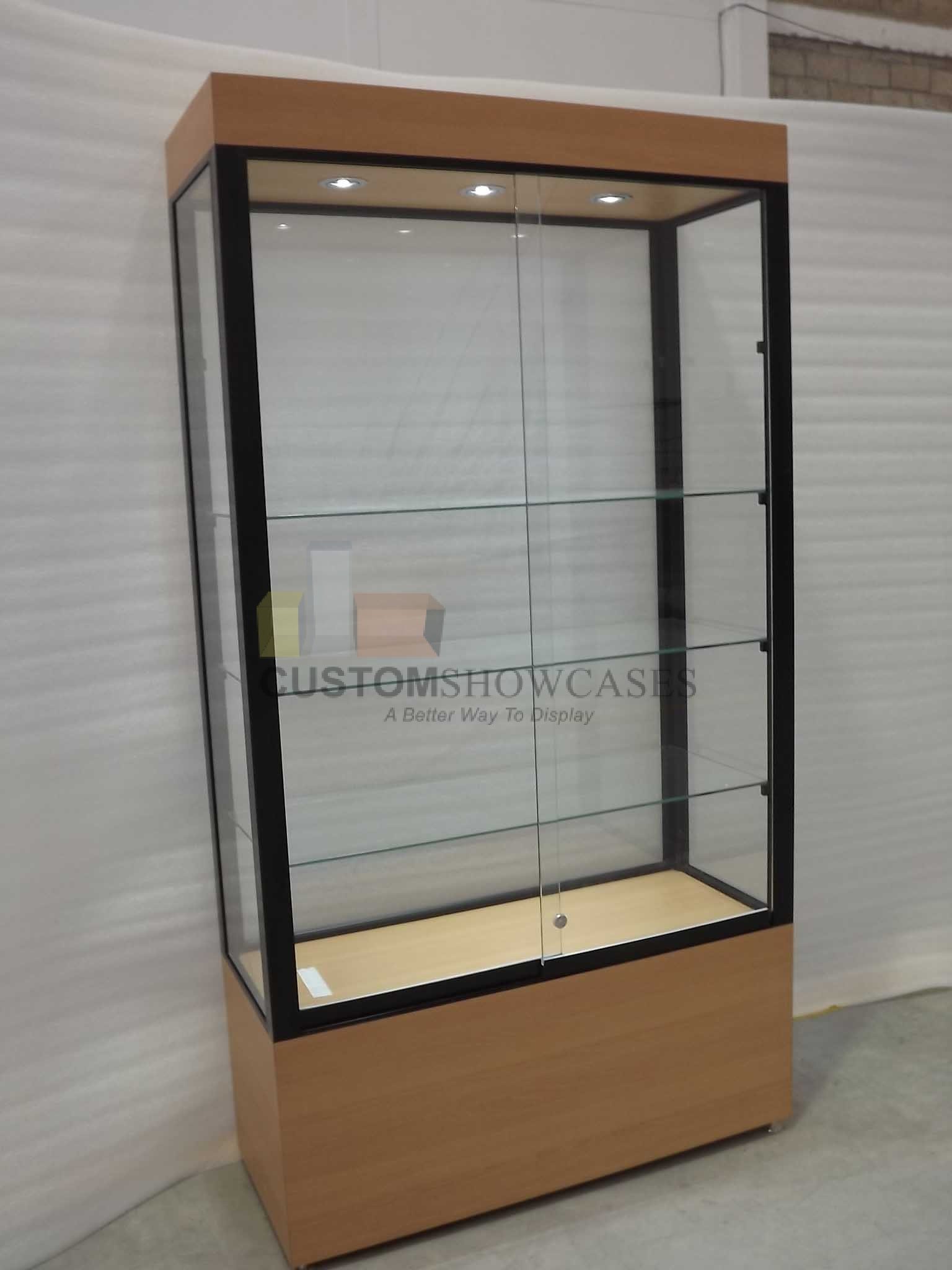 Free standing display cabinets archives custom display projects blog custom display projects - Custom display cabinets ...