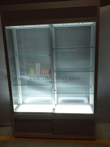 Wall Upright Showcases 651