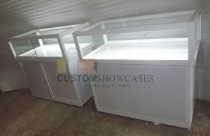 Glass Counter Display Cabinets