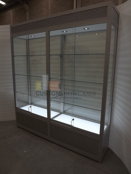 Wall Upright Display Cases Made To Perfection