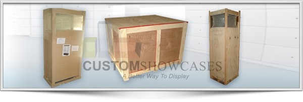Packing and Crating Showcases
